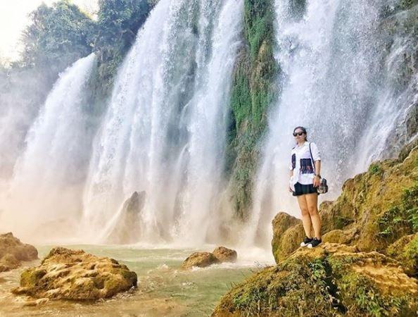 Sau khi khám phá vẻ đẹp của thác Bản Giốc, bạn có thể dành thời gian tham quan Động Ngườm Ngao nơi sở hữu hệ thống nhũ đá và măng đá kỳ thú, sinh động. Ảnh: @ntq248