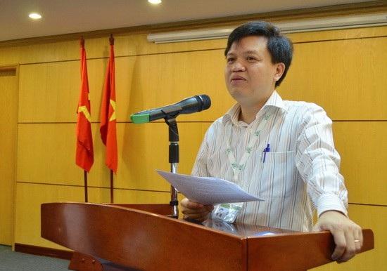 Ông Tạ Đình Thi - Quyền Tổng cục trưởng Tổng cục Biển và Hải đảo Việt Nam.