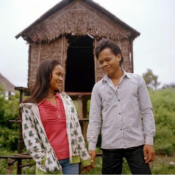 Nang Chan và một người bạn trai