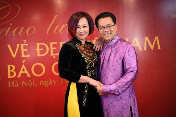 Vợ chồng nghệ sĩ Trần Nhượng - Bích Vân.