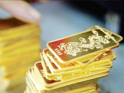 Tính trung bình trong tuần, mỗi lượng vàng miếng điều chỉnh giảm khoảng 140.000 đồng.