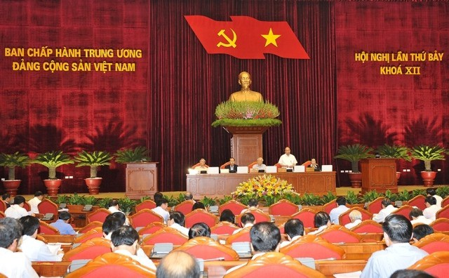 Hội nghị Trung ương 7 khép lại chương trình nghị sự sau 6 ngày làm việc liên tục
