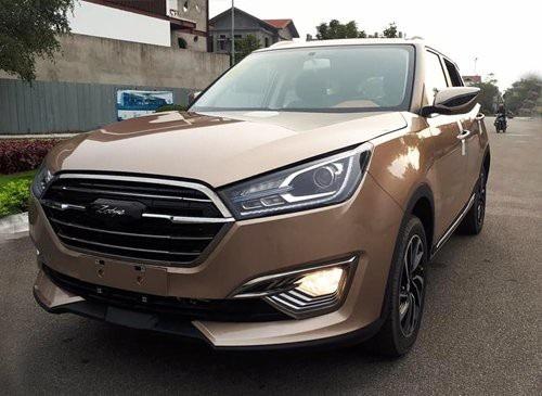 Mẫu SUV thương hiệu Zotye của Trung Quốc