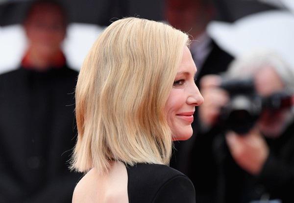 Cate Blanchett đẹp nổi bật với váy 7 sắc cầu vồng - 11