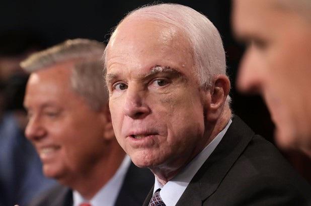Thượng nghị sĩ quá cố John McCain (Ảnh: Reuters)
