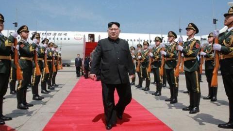 Ông Kim Jong-un bất ngờ có chuyến thăm thứ hai tới Trung Quốc hồi đầu tháng này