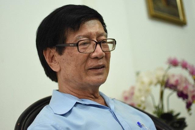 TS Võ Kim Cương, nguyên Phó kiến trúc sư trưởng TPHCM