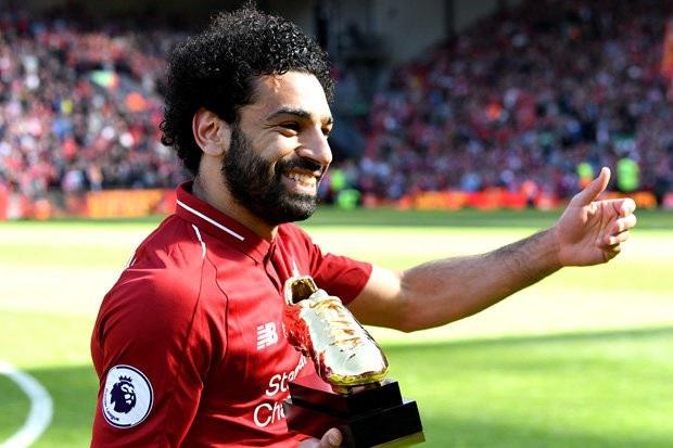 Mohamed Salah giành giải Vua phá lưới Premier League