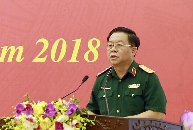 Thượng tướng Nguyễn Trọng Nghĩa - Phó Chủ nhiệm Tổng Cục Chính trị (Bộ Quốc phòng)