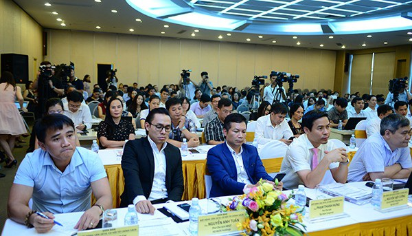 Các diễn giả tham gia Diễn đàn Bất động sản 2018 dành nhiều thời gian đề cập tới câu chuyện nóng sốt đất đặc khu.
