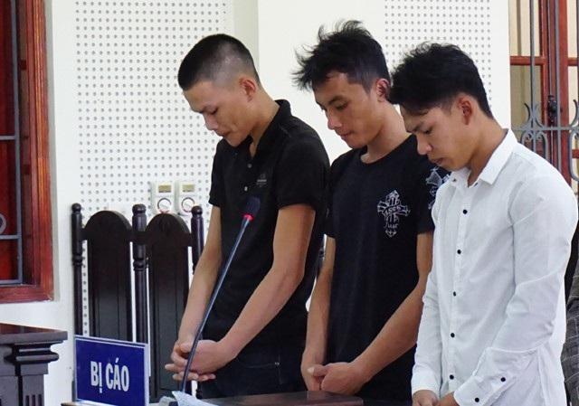 Giúp bạn đuổi đánh người, Vi Văn Cường, Lô Văn Nam, Lô Văn Tuyển bị truy tố tội Gây rồi trật tự công cộng và bị tuyên phạt mỗi người 6 tháng tù giam