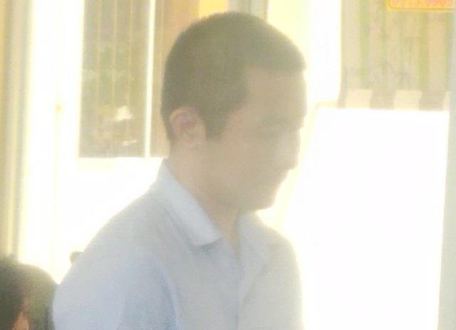Bị cáo Dương Minh Trọng tại tòa.