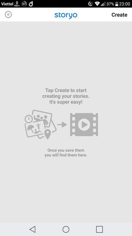 Ứng dụng tạo video trình diễn đẹp mắt từ hình ảnh trên smartphone - 1