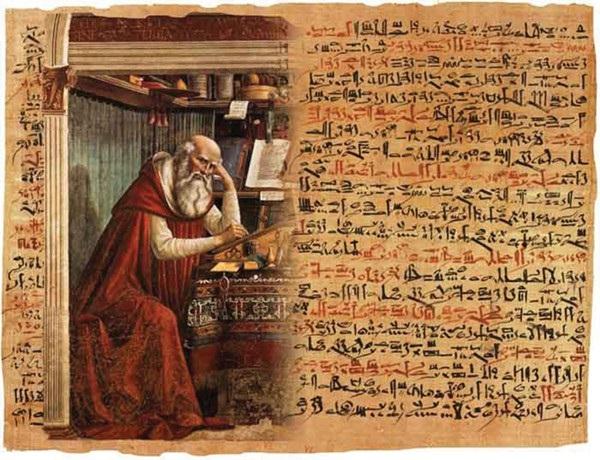 Người Ai Cập cổ đại tin rằng ngăn chặn được linh hồn ma quỷ lẻn vào vết thương là có thể chữa khỏi vết thương.