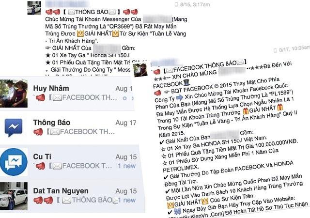 Những cách nhận biết bị lừa đảo trên Facebook - 1