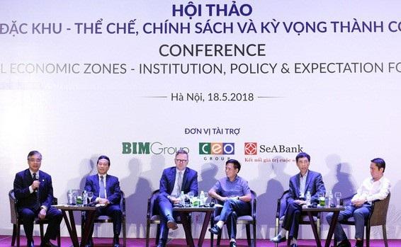 Trước khi Quốc hội thông qua Dự thảo Luật Đặc khu tại kỳ họp tới đây, các chuyên gia kinh tế trong và ngoài nước đã đưa ra nhiều ý kiến phản biện