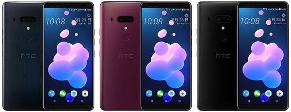 Hình ảnh chính thức của HTC U12+ vừa bị rò rỉ cho thấy sản phẩm có đến 4 camera cả ở trước và sau