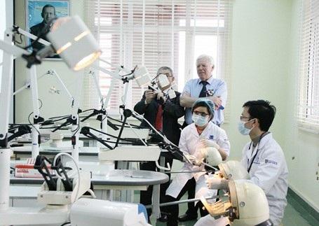 Nghiên cứu tại khoa Y Dược - ĐH Quốc gia Hà Nội.