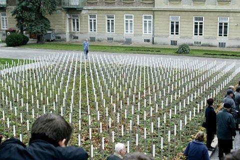 Khu tưởng niệm nạn nhân Quốc xã ở Thủ đô Vienna, Áo