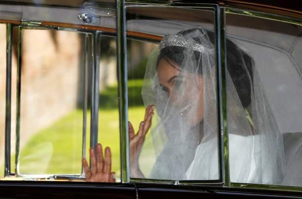Cô dâu Meghan (Ảnh: BBC)