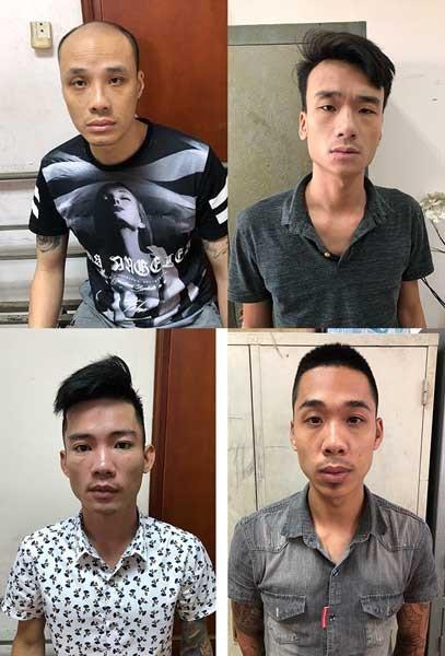 4 đối tượng nghi ném bom xăng vào nhà con nợ đã bị bắt