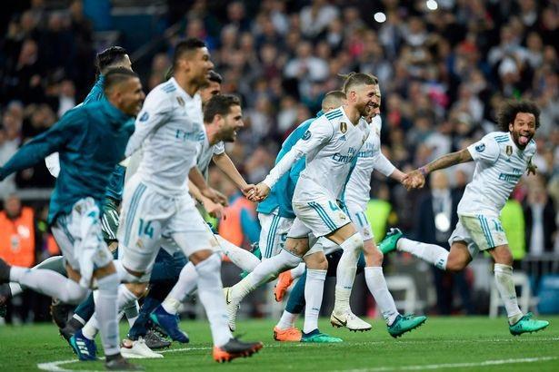 Real Madrid lần thứ 16 lọt vào chung kết cúp C1/Champions League