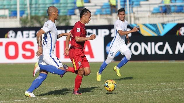 Đội tuyển Việt Nam đã thắng Malaysia 1-0 ở vòng bảng AFF Cup 2016