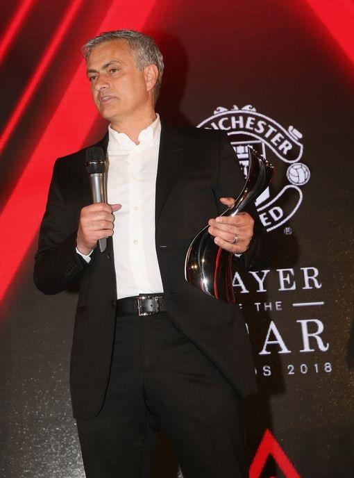 Vị thuyền trưởng người Bồ Đào Nha phát biểu trước khi đưa ra lựa chọn người được trao danh hiệu Cầu thủ xuất sắc nhất mùa giải của MU