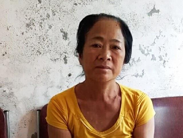 Lô Thị Thuyên tại Công an huyện Tương Dương