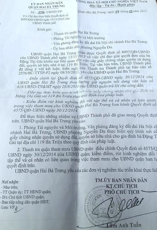 Ông Lâm Anh Tuấn ký Công văn số 1056/UBND-VP chỉ đạo kỷ luật bộ phận tham mưu.