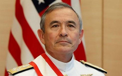 Đô đốc Harris. Ảnh: Reuters.