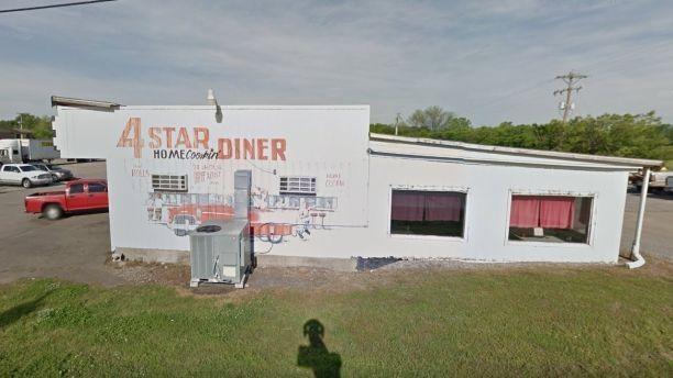 Nhà hàng 4 Star Diner, bang Oklahoma, Mỹ.Nguồn: Google Street View