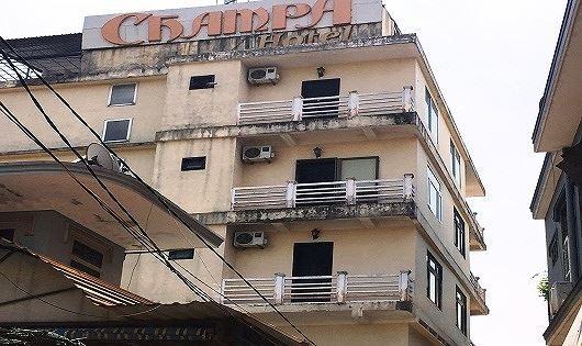 Khách sạn Champa nơi xảy ra vụ việc