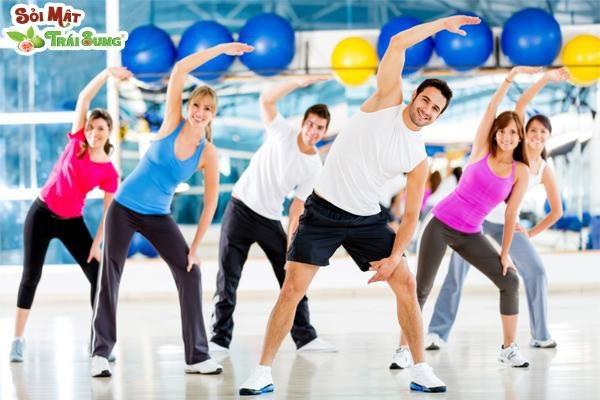 Vận động giúp tăng cường sức khỏe