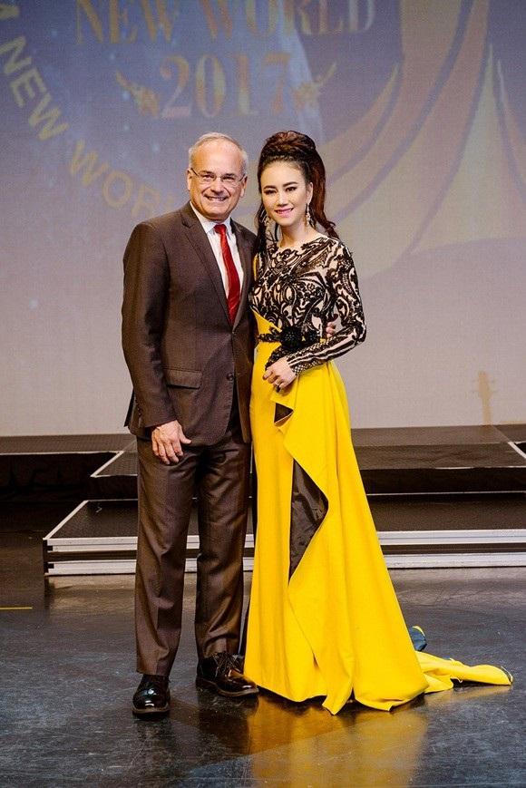 Hoa hậu Mỹ Vân – Nhà sáng lập cuộc thi Ms Vietnam New World
