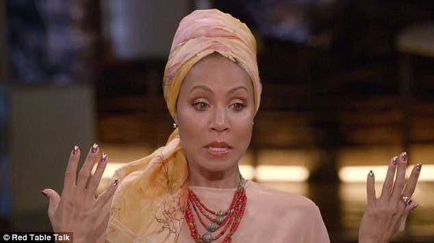 Jada trong tập phim mới nhất nói về hội chứng rụng tóc mà cô đang phải đối mặt.