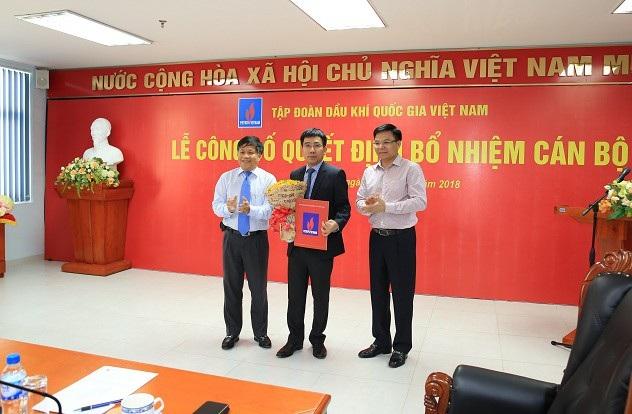Ông Lê Xuân Huyên (giữa) được bổ nhiệm giữ chức Chủ tịch HĐTV Công ty BSR (Ảnh BSR)