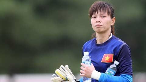 Thủ môn Kiều Trinh quyết định chia tay đội tuyển nữ Việt Nam ở tuổi 33