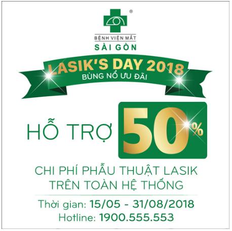 Lasik's day 2018: Cơ hội không thể bỏ qua - 2