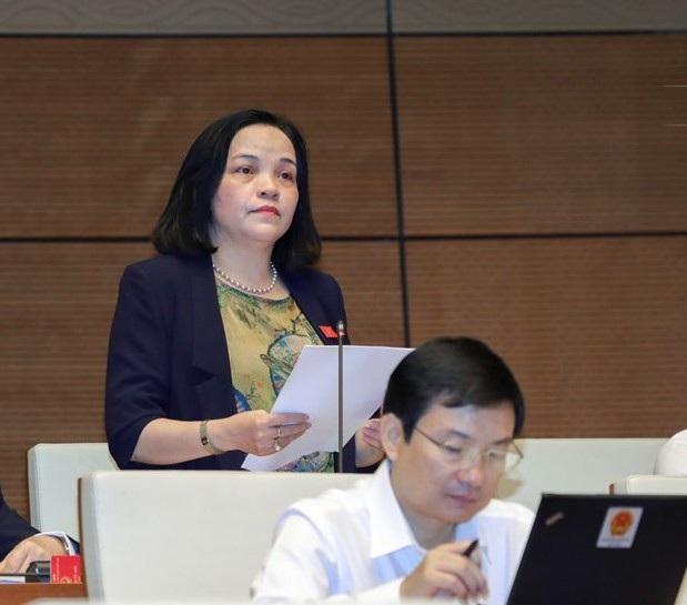 Đại biểu Hà Thị Minh Tâm (Hà Nam).