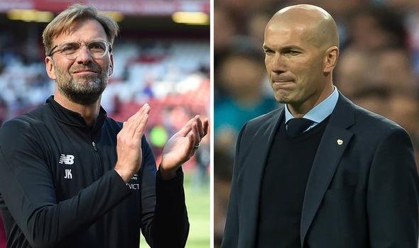 Cuộc đấu trí giữa Jurgen Klopp và Zidane hứa hẹn sẽ vô cùng hấp dẫn