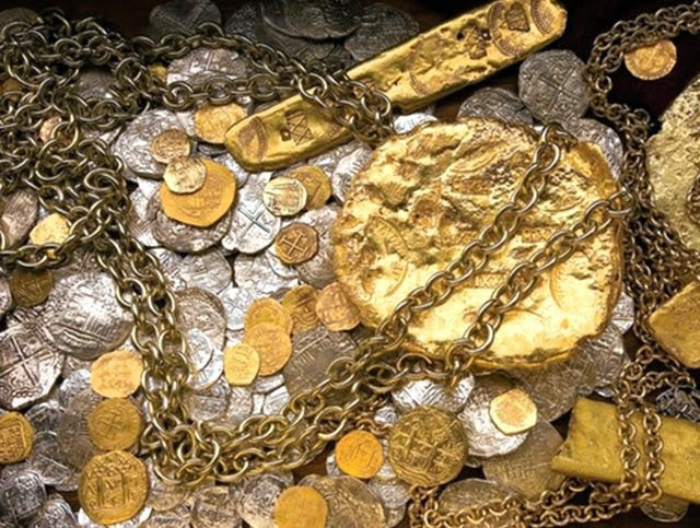 Con tàu đắm San Jose chứa 11 triệu đồng vàng và bạc, ngọc lục bảo và rất nhiều hàng hóa quý khác. (Nguồn: The Daily Coin)