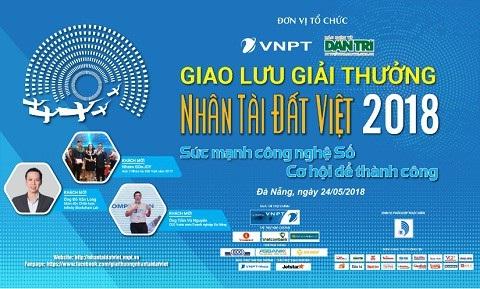 Nhân tài Đất Việt 2018 truyền lửa khởi nghiệp với sinh viên Đà Nẵng vào ngày 24/5