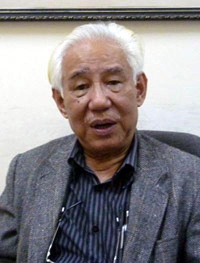 Chủ tịch Hội Mỹ thuật Việt Nam, họa sĩ Trần Khánh Chương.