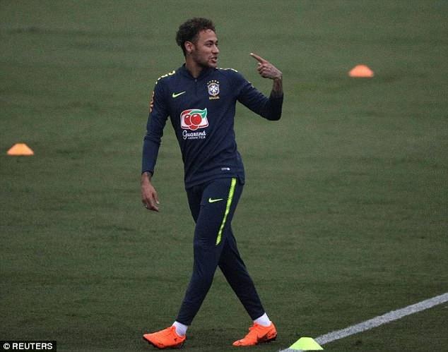 Neymar nghỉ thi đấu từ tháng 2/2018 và anh đã hồi phục thần kỳ sau 3 tháng