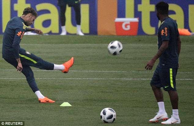 Neymar khá nỗ lực và anh gần như đã hồi phục hoàn toàn chấn thương