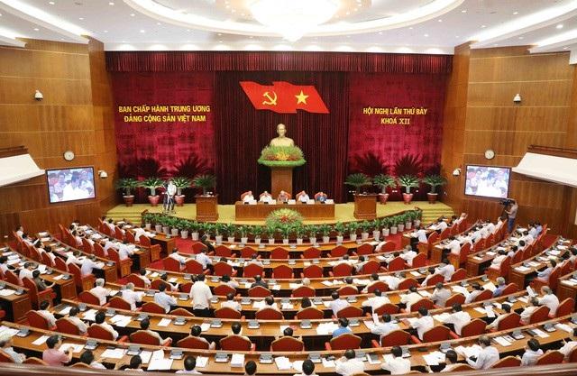 Hội nghị Trung ương 7, Khoá XII (Ảnh: P.H)
