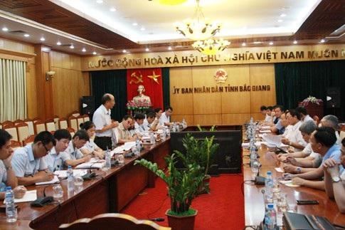 Thanh tra Chính phủ công bố quyết định thanh tra tại UBND tỉnh Bắc Giang (Ảnh: TTCP).