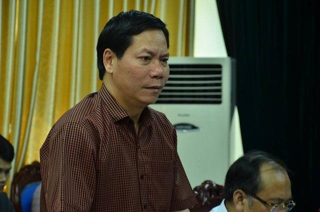 Nguyên Giám đốc Bệnh viện đa khoa tỉnh Hoà Bình - Trương Quý Dương (Ảnh: PC)