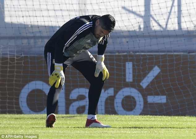 Romero buồn bã khi phải chia tay World Cup 2018